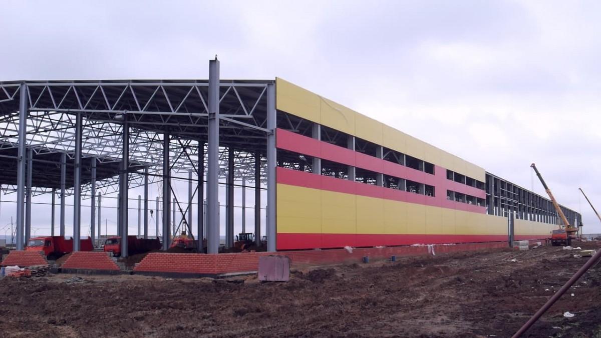 строящийся литейный завод